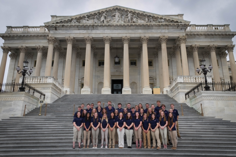 2018 Youth Tour Group