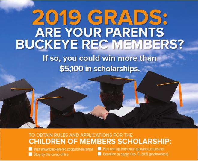 2019 Children of Members Scholarship