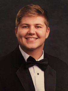 Scholarship winner Austin Mahr